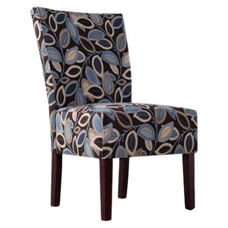 Best Found It At Wayfair Dunley Slipper Chair In Brown Blue 400 x 300