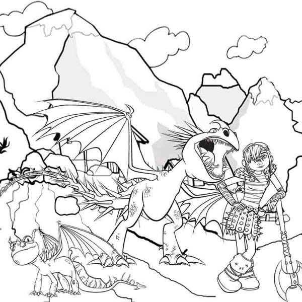 How To Train Your Dragon Coloring Pages For Kids Dragon Coloring Page How Train Your Dragon Train Coloring Pages