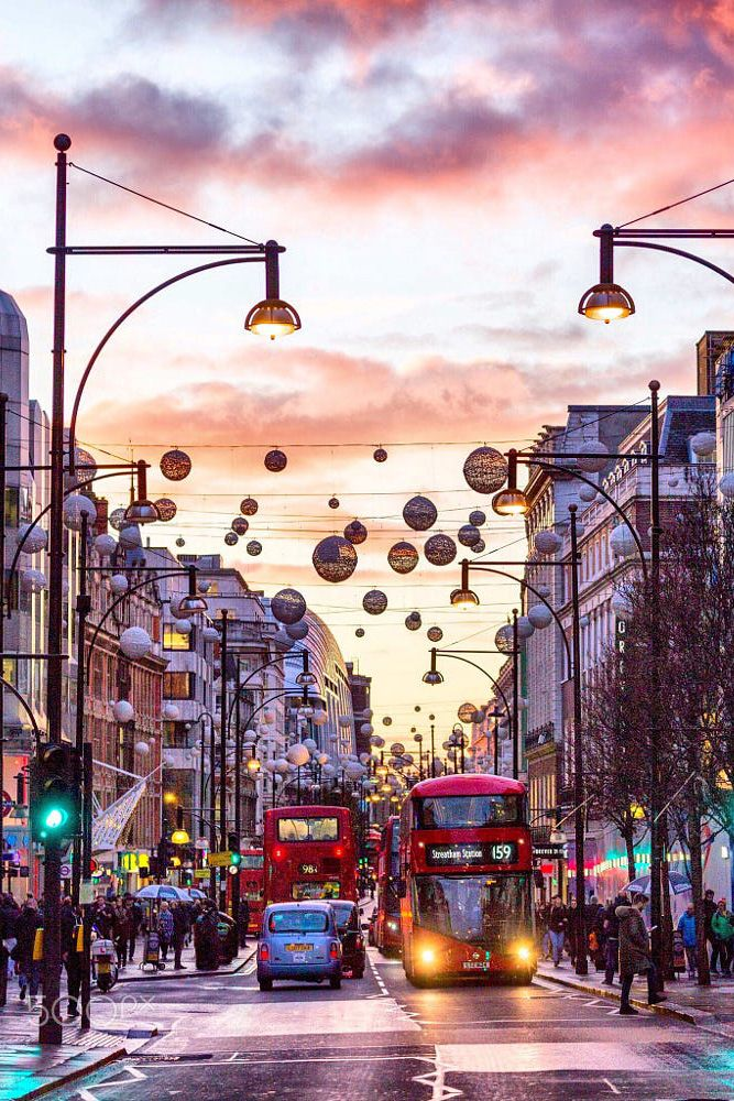 Christmas in London, England | London christmas, London ...