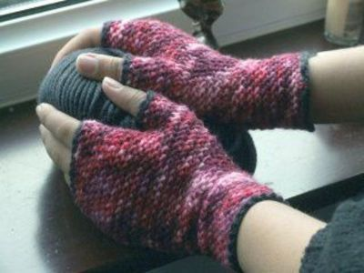 Fingerless Gloves With A Thumb Hole Free Crochet Pattern Crochet Fingerless Gloves Free Pattern Crochet Gloves Crochet Mittens
