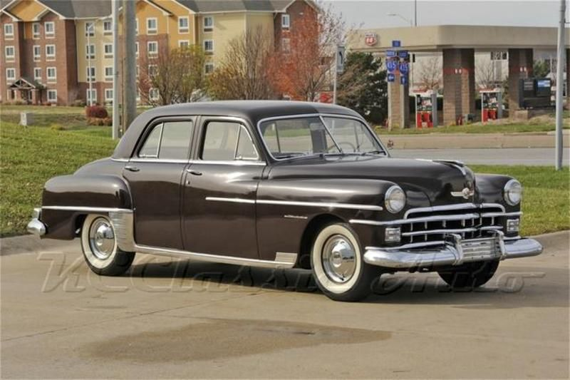 1950 Chrysler Windsor Four Door Sedan Chrysler Cars Chrysler Windsor Chrysler Limousine