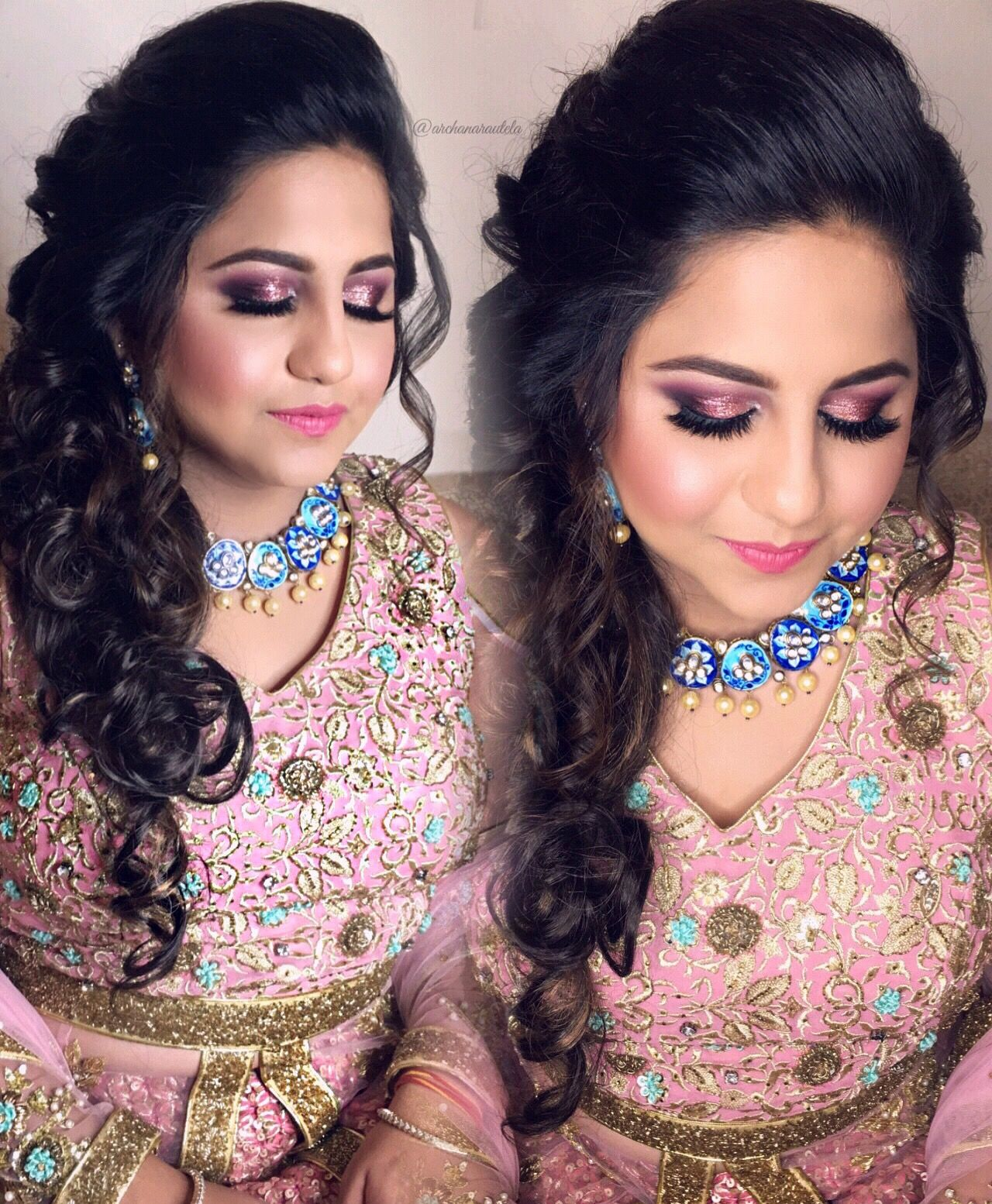 Pin On Indian Party Hairstyles