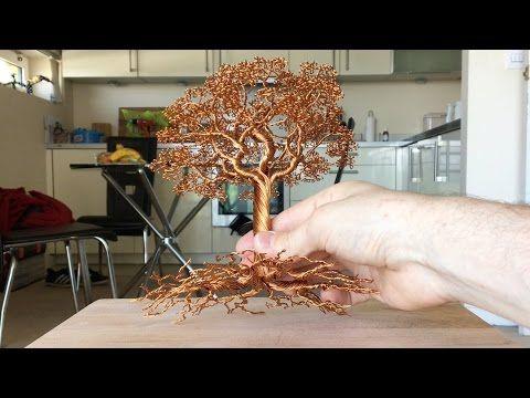 AVIA weeping willow wire tree metal aluminium sculpture wirepark ...