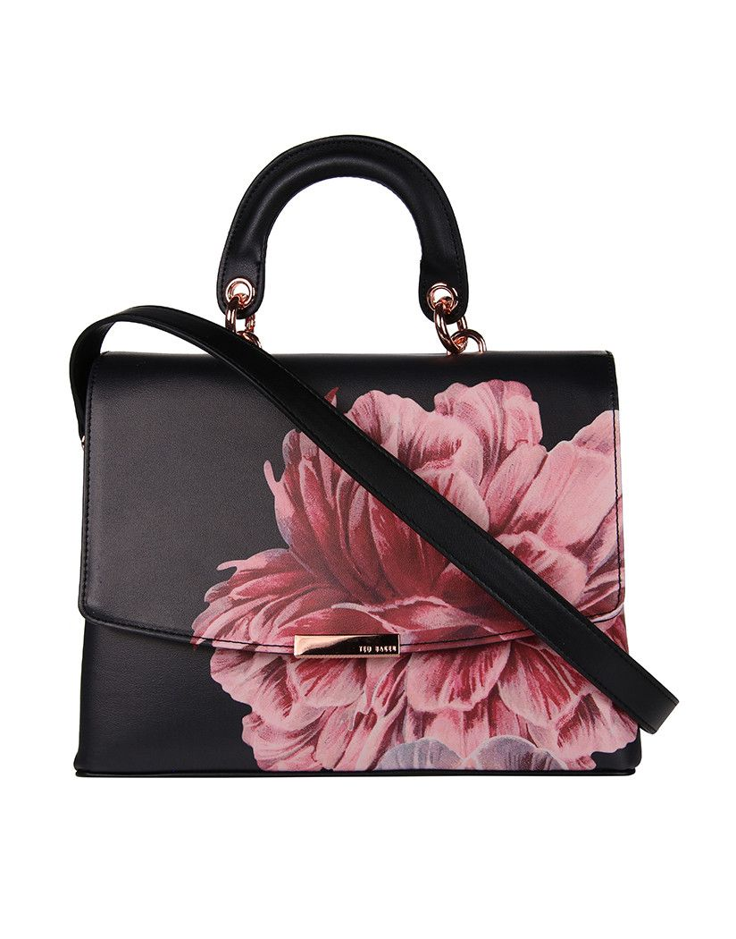 ddb42d6cf1 A must have for year round wear, the Women's Sofiia Tranquility Lady Bag by Ted  Baker is iconic in its classic rectangle shape, and features a beautiful ...