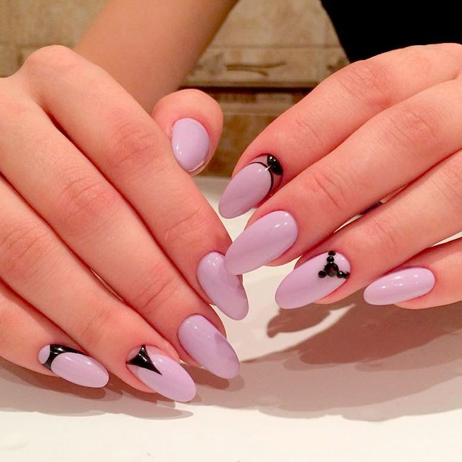 how to make your nails oval