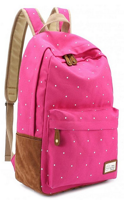 Wishot Seventeen 17 Backpack Canvas Bag Schoolbag Travel Shoulder Bag Rucksacks For Women Girls Keep You Fit All The Time Backpacks