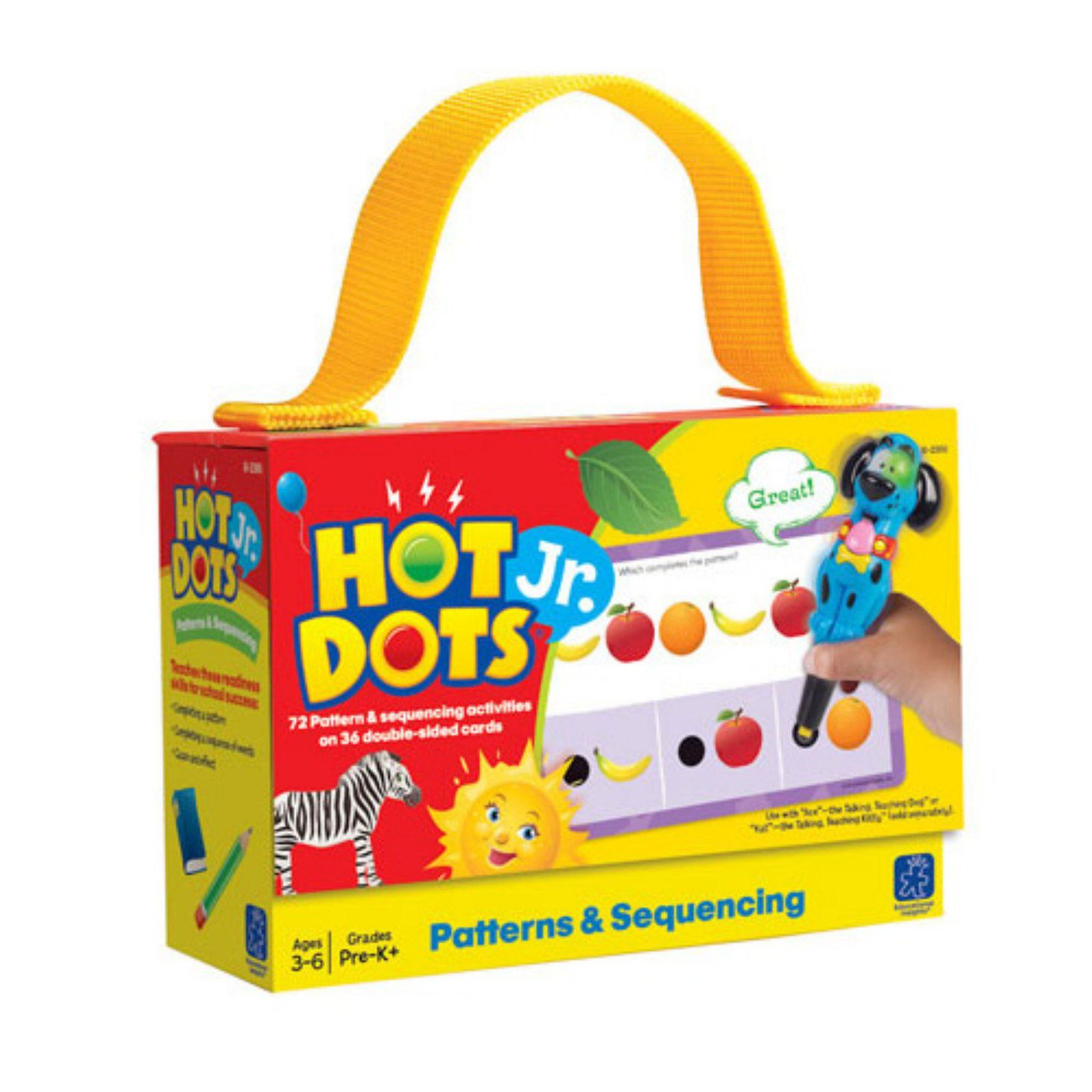 Educational Insights Hot Dots Phonics Learning How To Read