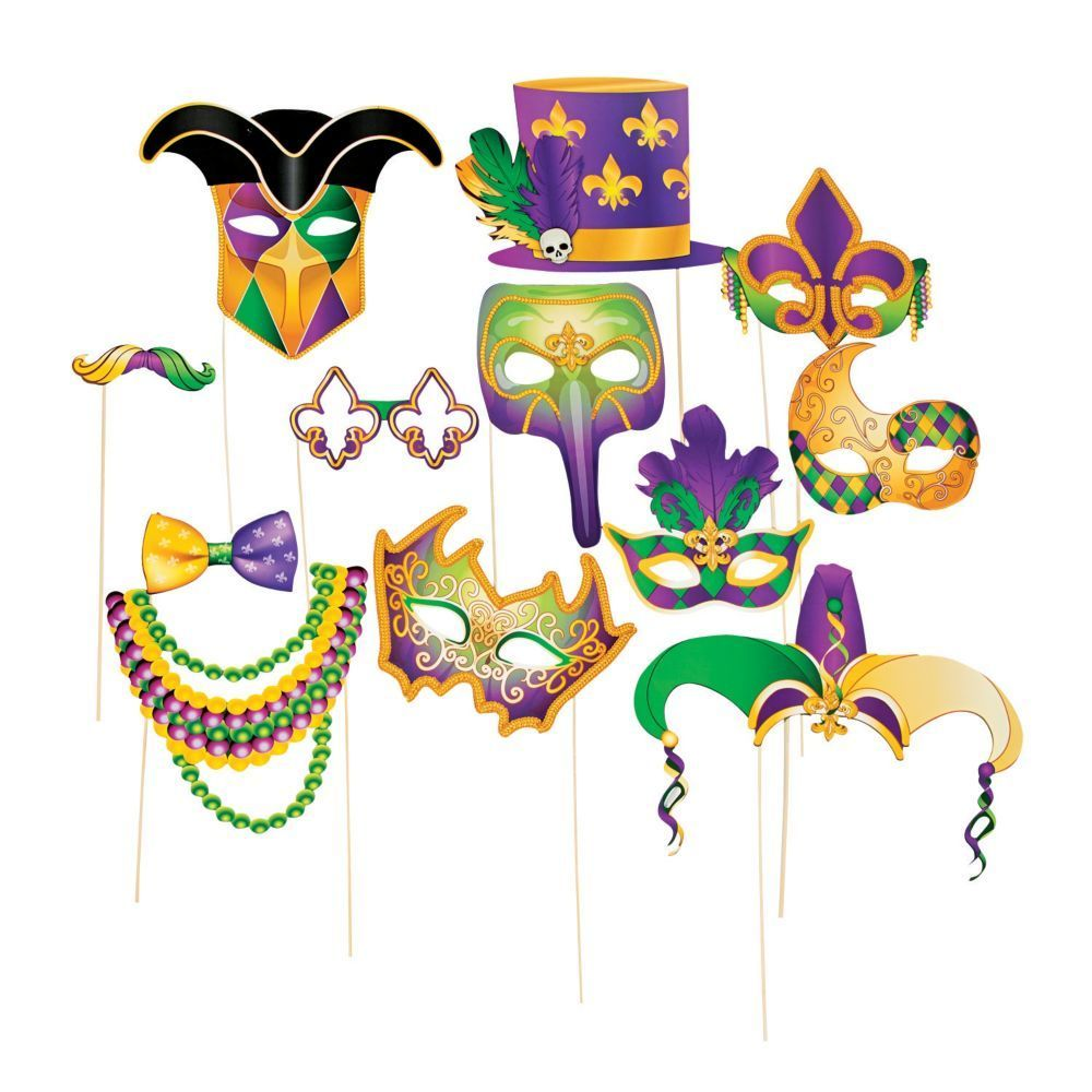 Mardi Gras Stick Costume Photo Stick Props   Mardi gras photos ...