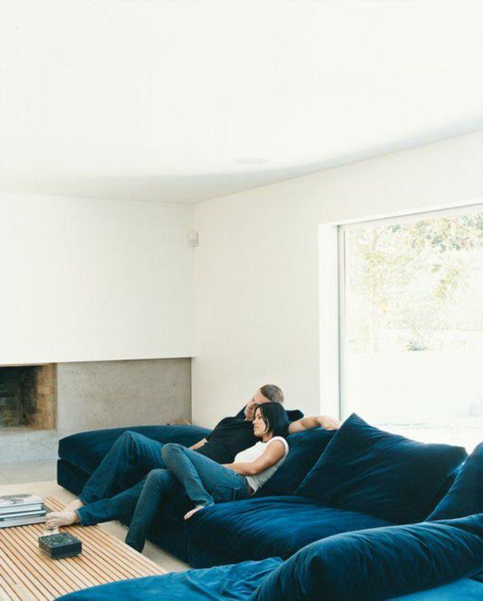 Le gros coussin pour canapé en 40 photos!