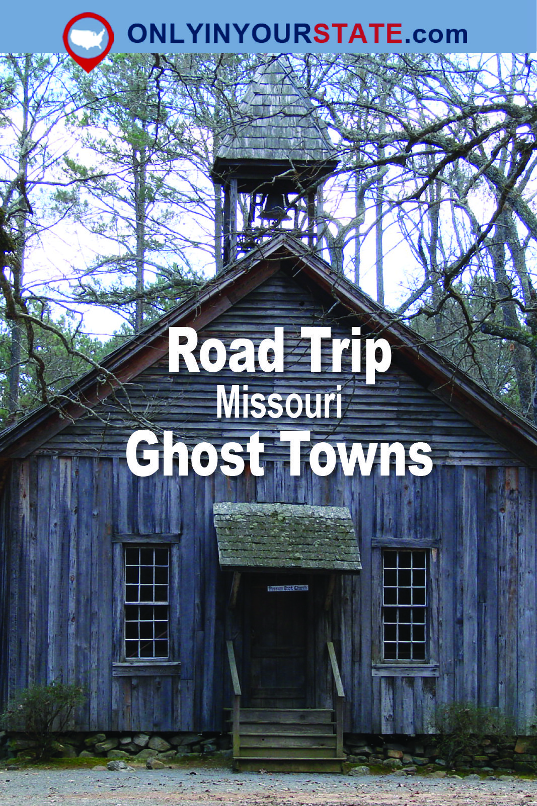 This Haunting Road Trip Through Missouri Ghost Towns Is