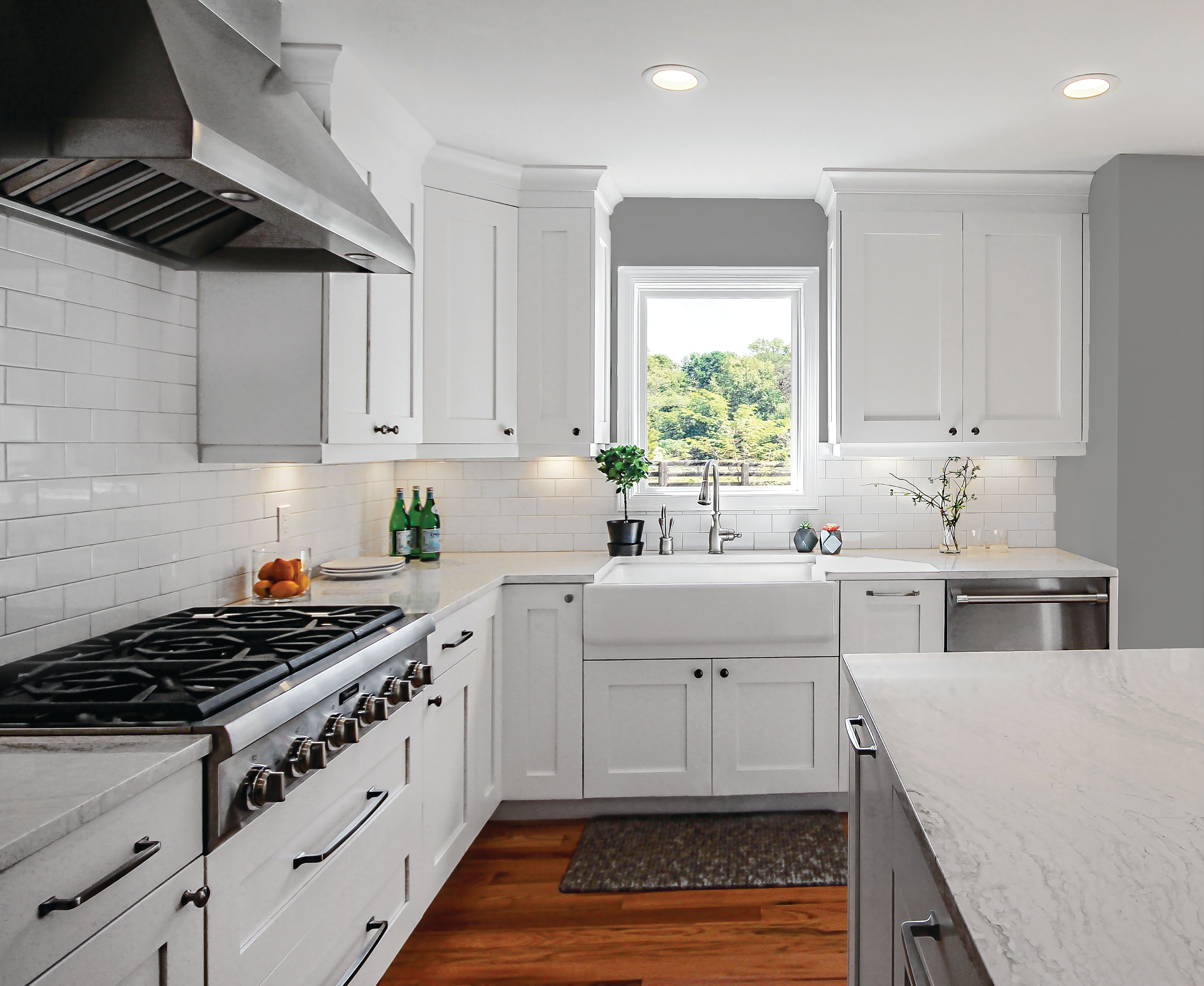 Kitchen Remodel Season Is Around The Corner Don T Forget To Plan Ahead For Your Windows If Yo White Modern Kitchen Home Insulation Home Improvement Companies