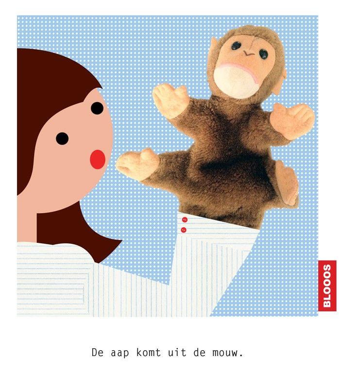 3208e0cbc9b Nu komt de aap uit de mouw. Betekenis : Nu blijkt wat werkelijk de ...