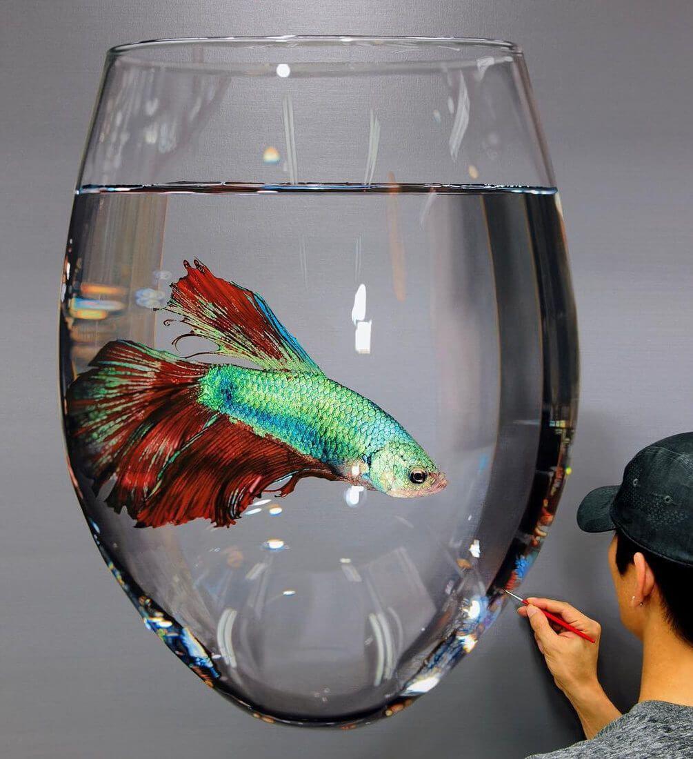 Realistic Animal Oil Paintings On Canvas