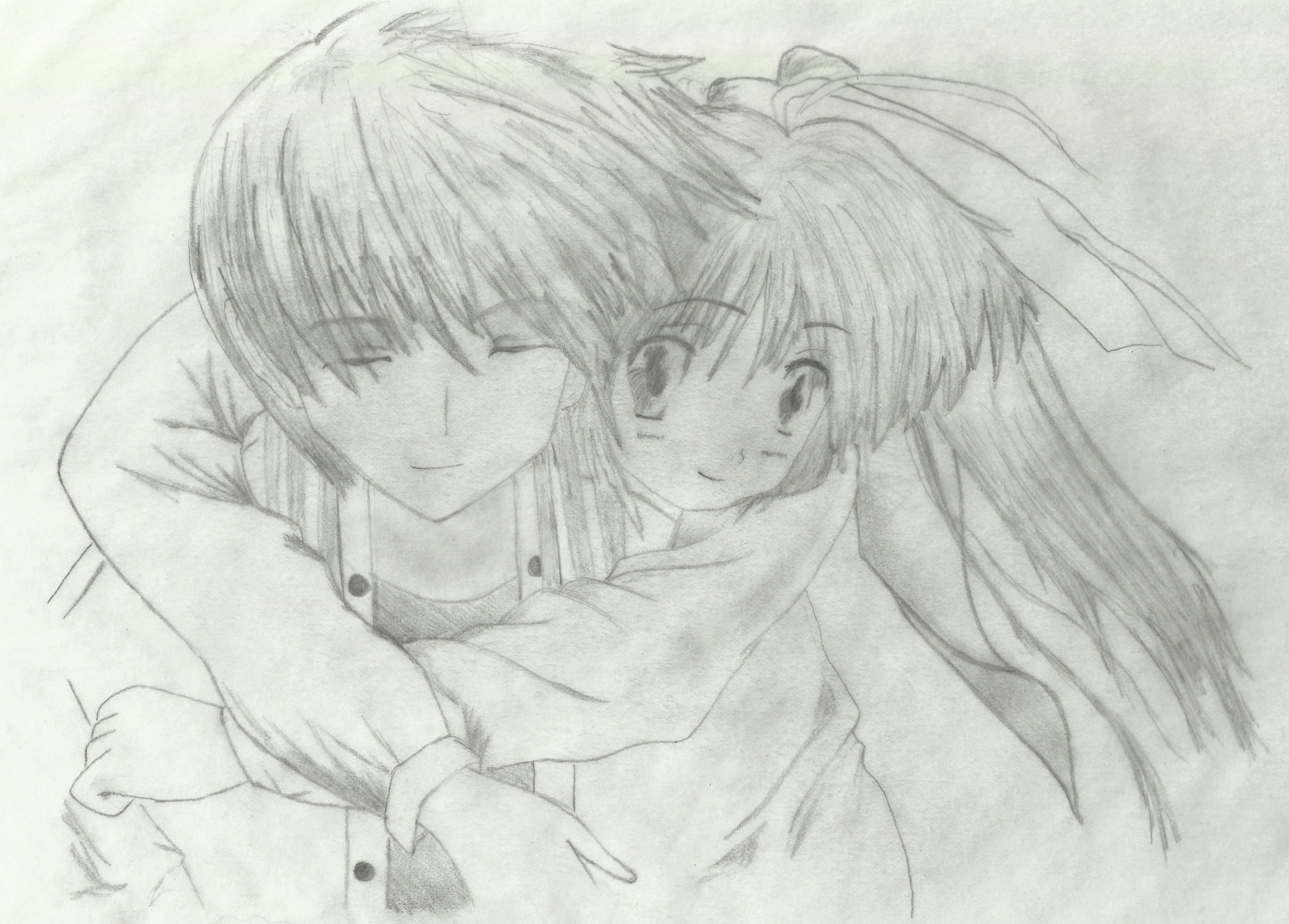 Anime · cute love drawings
