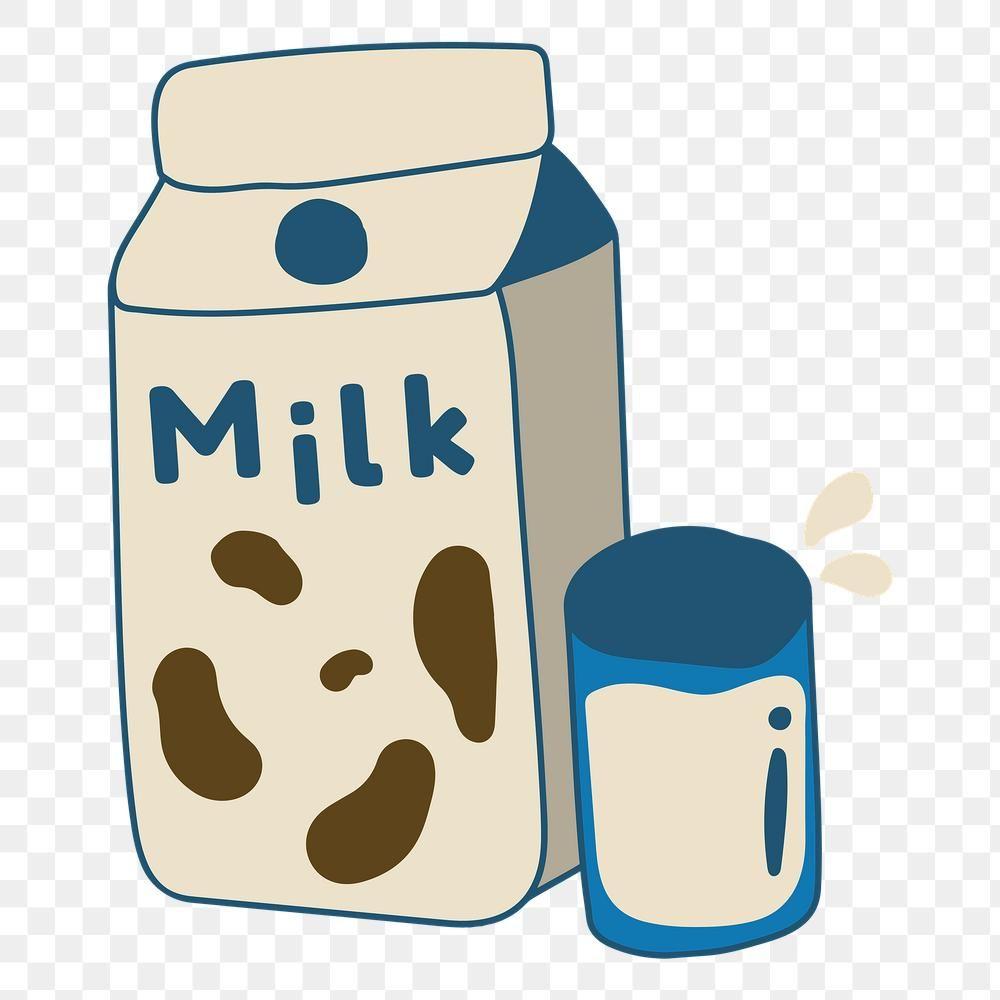 Cute Milk Carton Doodle Sticker Design Element Free Image By Rawpixel Com Mind Cute Panda Wallpaper Doodles Cute Drawings