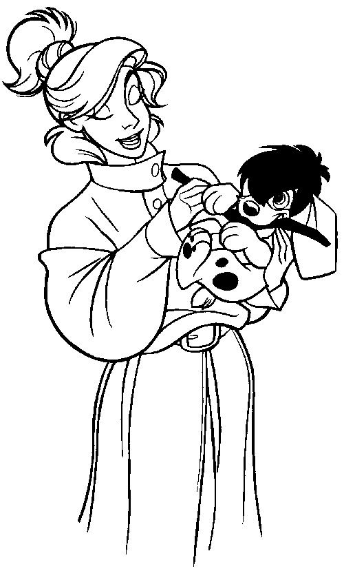Anastasia Coloring Pages 34 Is A Page From BookLet Your Children Express Their Imagination When They Color The