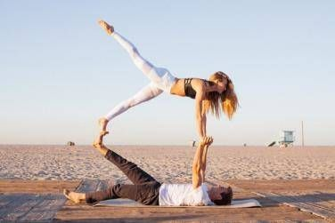 25 couple yoga poses that will make you feel healthier