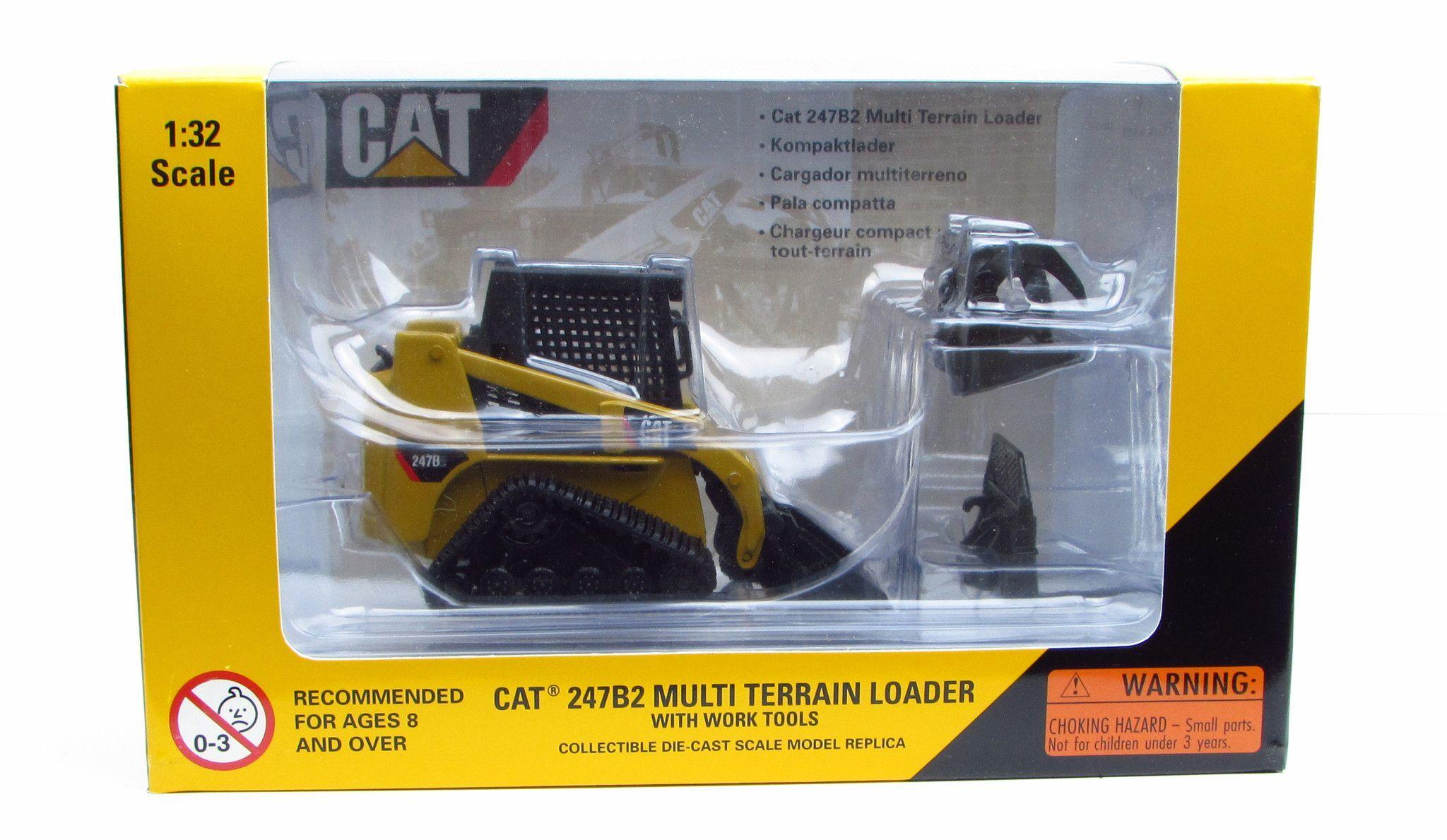 cat 247b2 multi terrain loader norscot 55102 1 32 new diecast