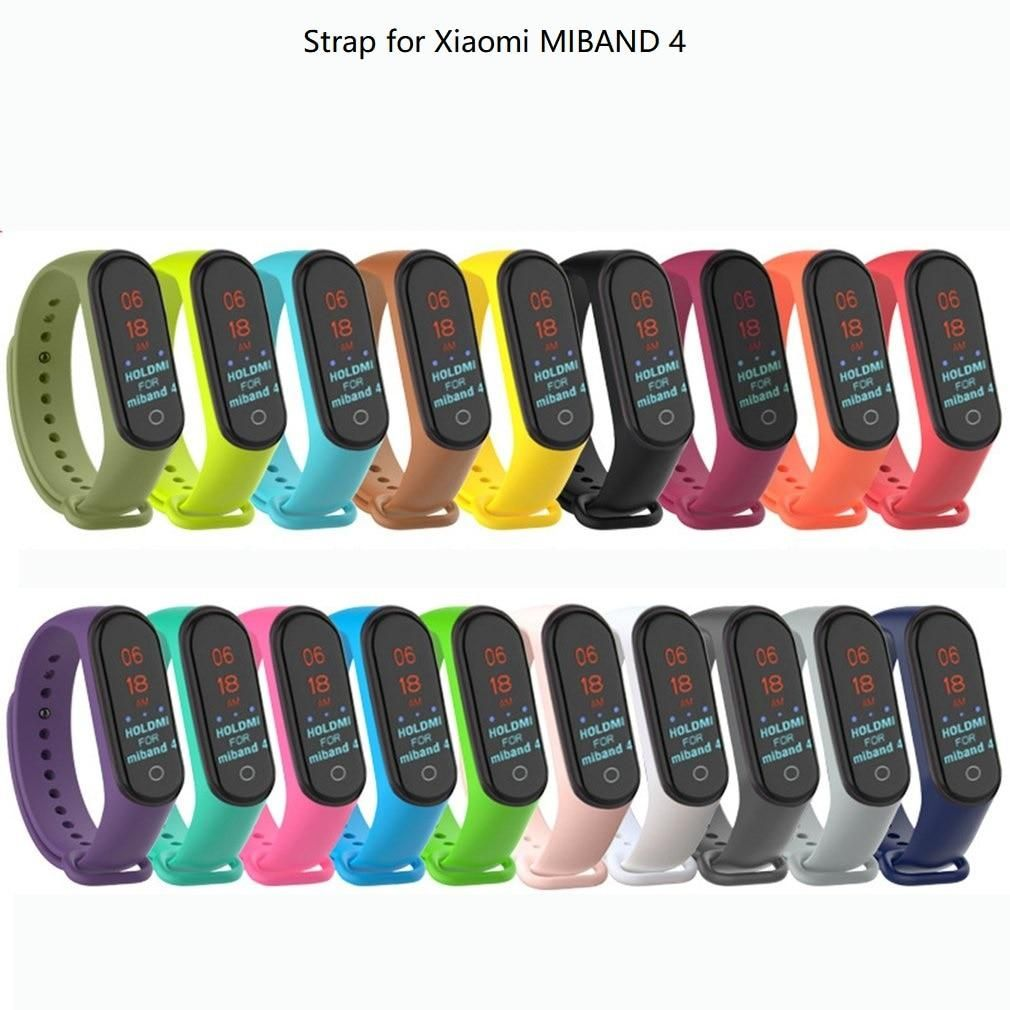 Colorful Mi Band 4 Accessories Pulseira Mi Band Wriststrap Smart Bracelet Wristband Replacement Straps