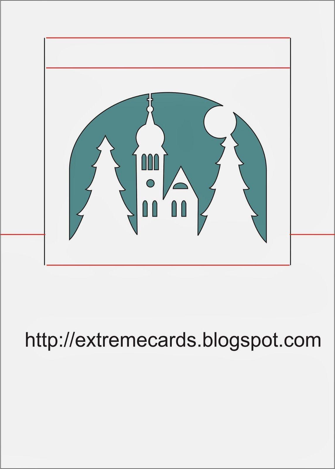 church pop up card Af Xtreme cards