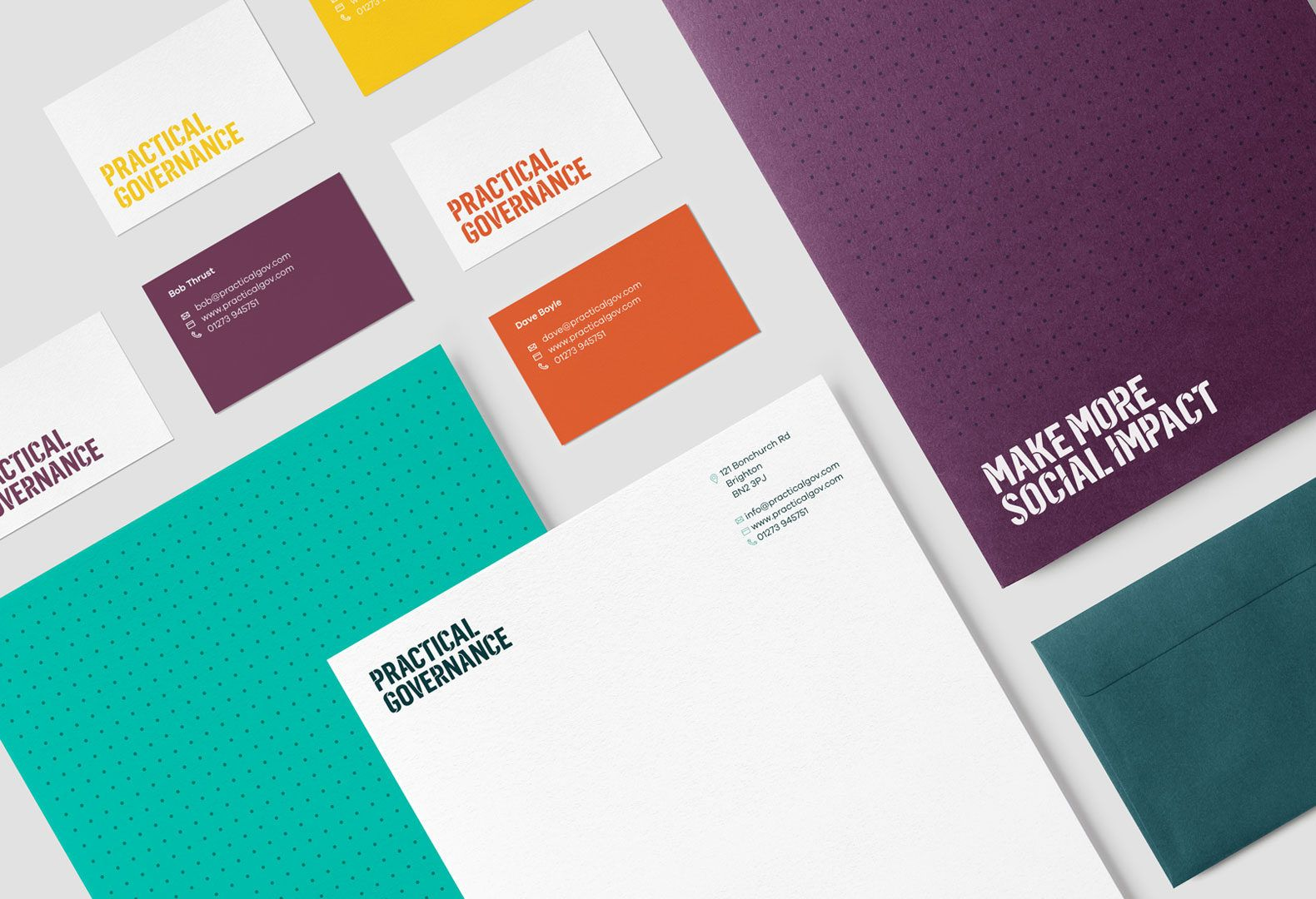 Practical governance brand applied to their stationery letterheads practical governance brand applied to their stationery letterheads business cards compliment slips reheart Image collections