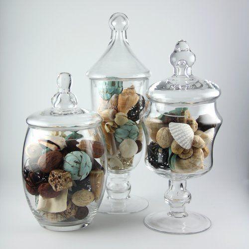 Like the idea of shells in jars