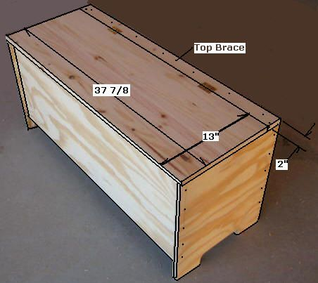 free entryway storage bench plans - how to build an entryway, Garten ideen