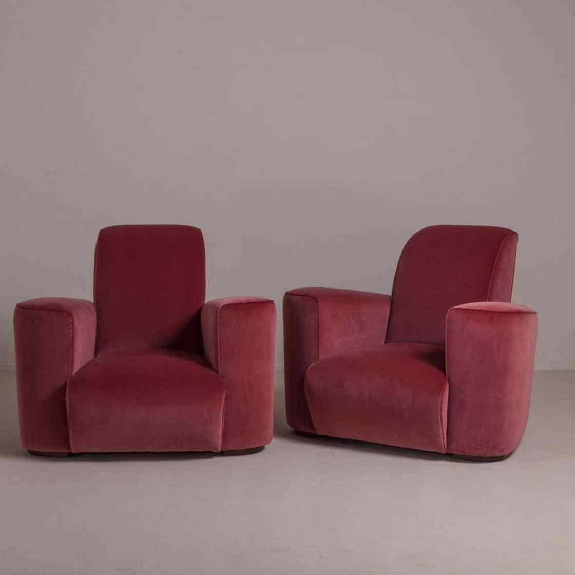 The Deco Club Chairs by Talisman Bespoke | Talisman