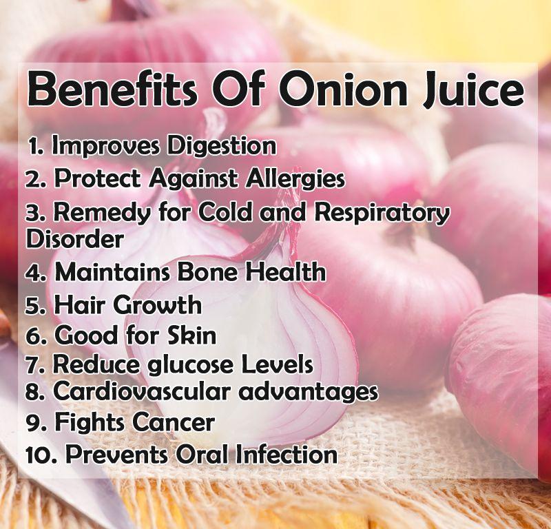 Skin Benefits Of Onion Juice