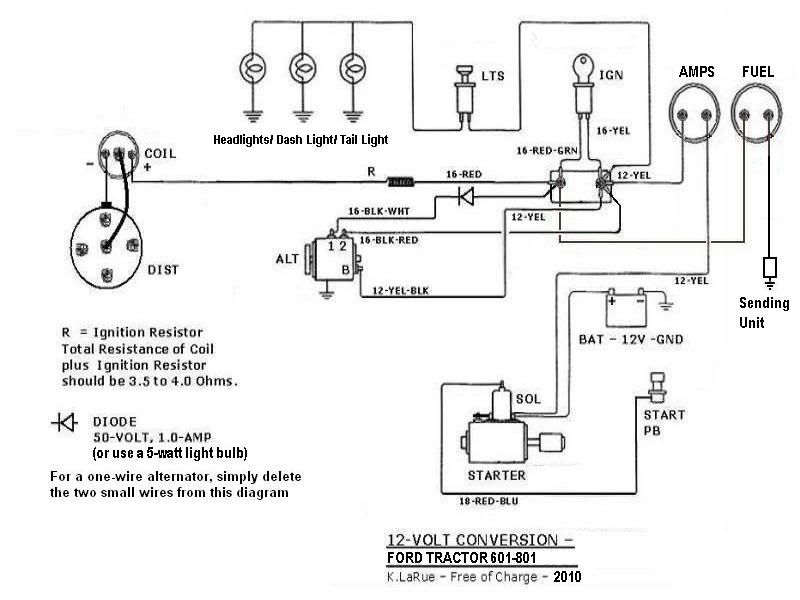 801 ford tractor wiring diagram submited images  pic2fly