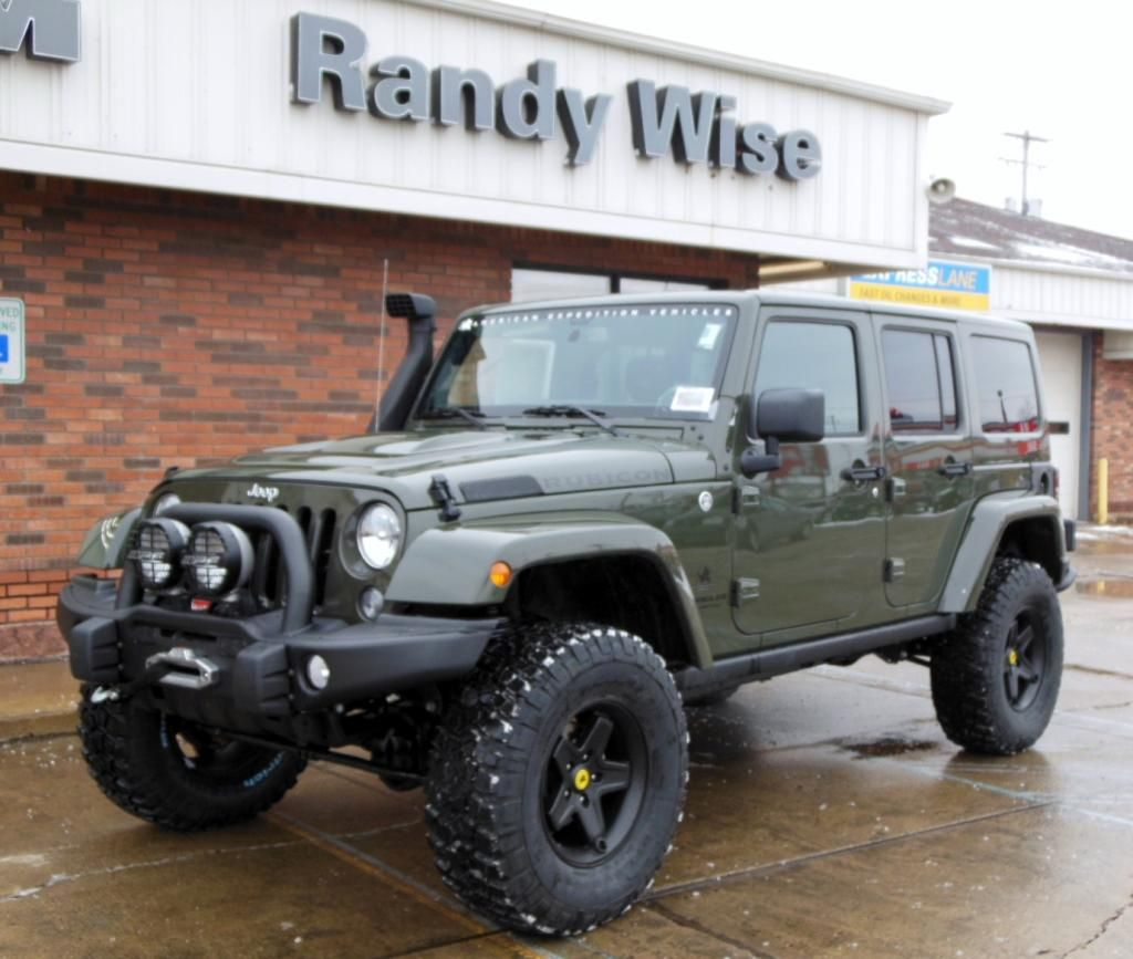 2015 rubicon unlimited in tank color american expedition vehicles