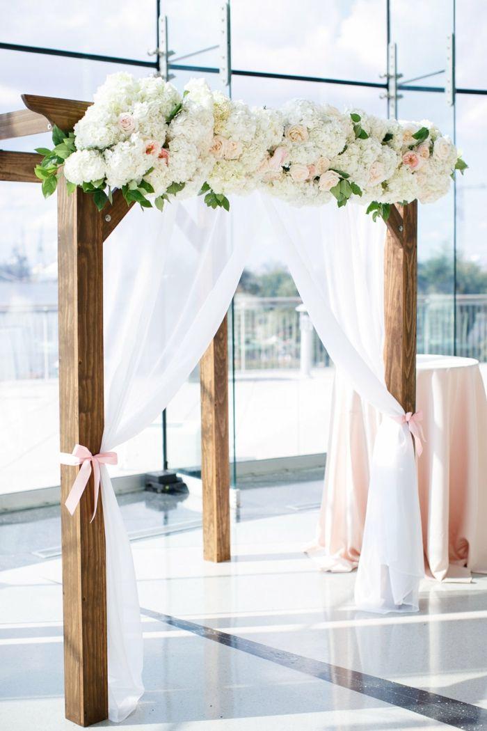 Formidable Comment Faire Une Arche Pour Mariage #5: Idée Arche Pour Mariage Pas Cher Comment Faire Une Arche Fleur Deco Mariage  Intérieur Déco Mariage