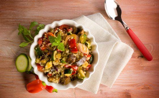 Cucinare con la quinoa tante ricette facili veloci e for Cucinare vegano