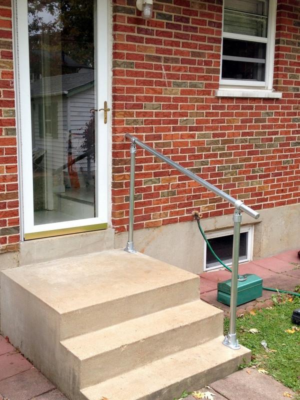 Best Sr C50 Topfixed Inline Adjustable Stair Handrail 400 x 300