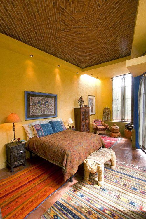 50 Schlafzimmer Ideen im Boho Stil Einrichtungen Pinterest - ideen fr schlafzimmer streichen