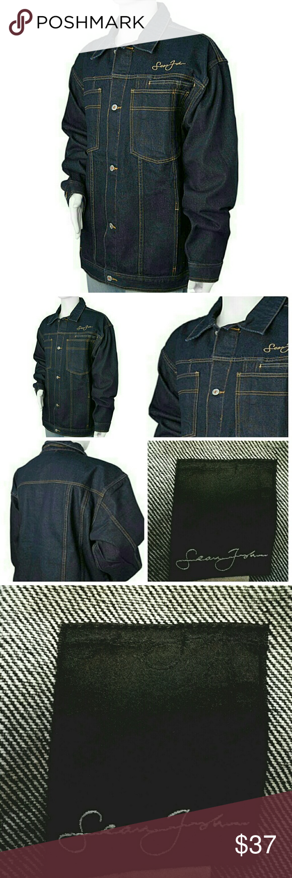 Sold Sean John Mens Jean Jacket Denim Xxl 2x Jean Jacket Men Fashion Worn Jean Jacket [ 1740 x 580 Pixel ]