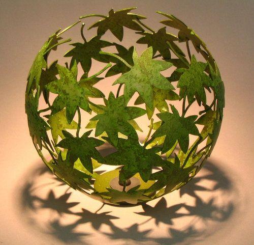 Blätter Ballon Windlicht Zuhause Pinterest Windlicht - herbst deko ideen fur ihr zuhause