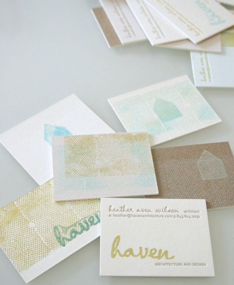 Letterpress Print Works By: Stitch | Square Inch Design Blog