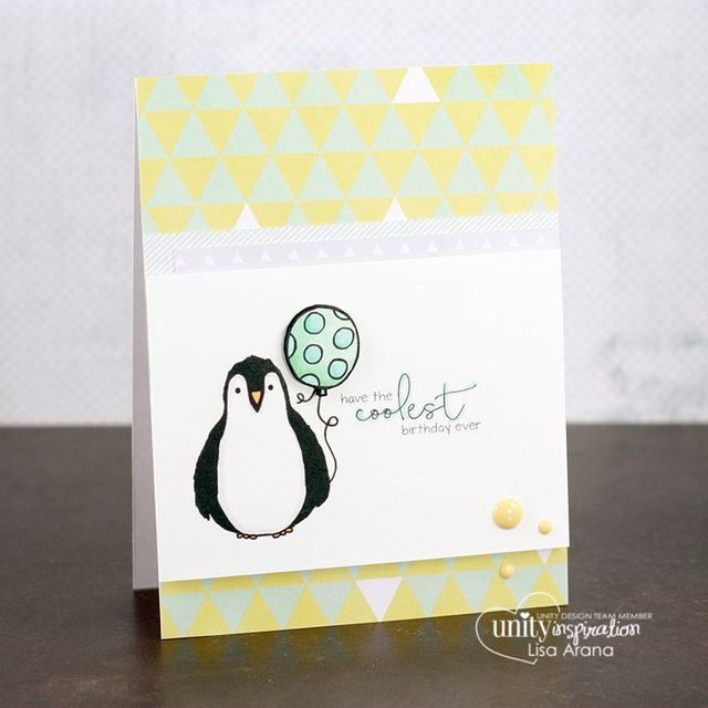 Coolest Birthday Penguin Ever Unity Stamp Company Birthday