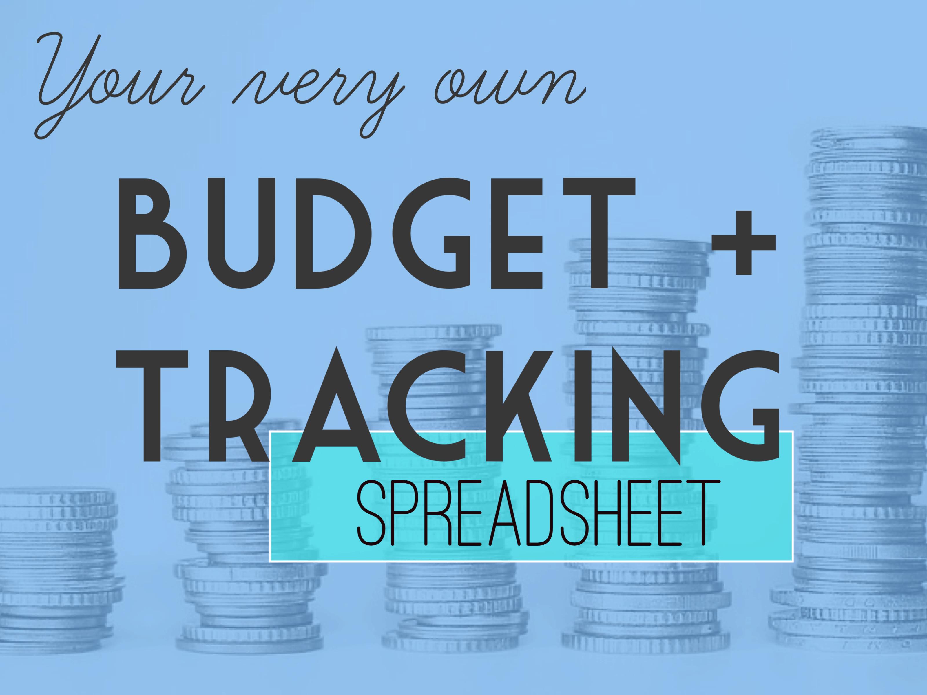 Budget Tracking Spreadsheet