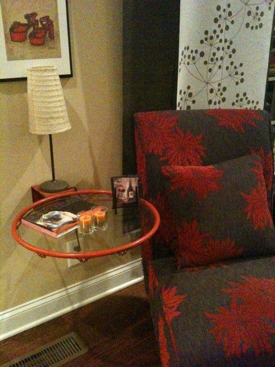 Basketball Hoop Table  Dim  Did It Myself  Pinterest Amusing Basketball Hoop For Bedroom Design Inspiration