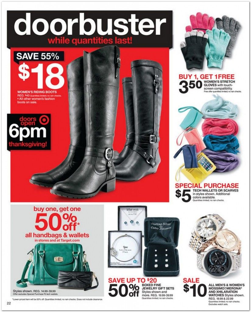 Target Black Friday Ad   Black friday
