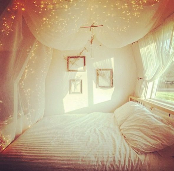 I Love These Curtains! Want These For My Bed!