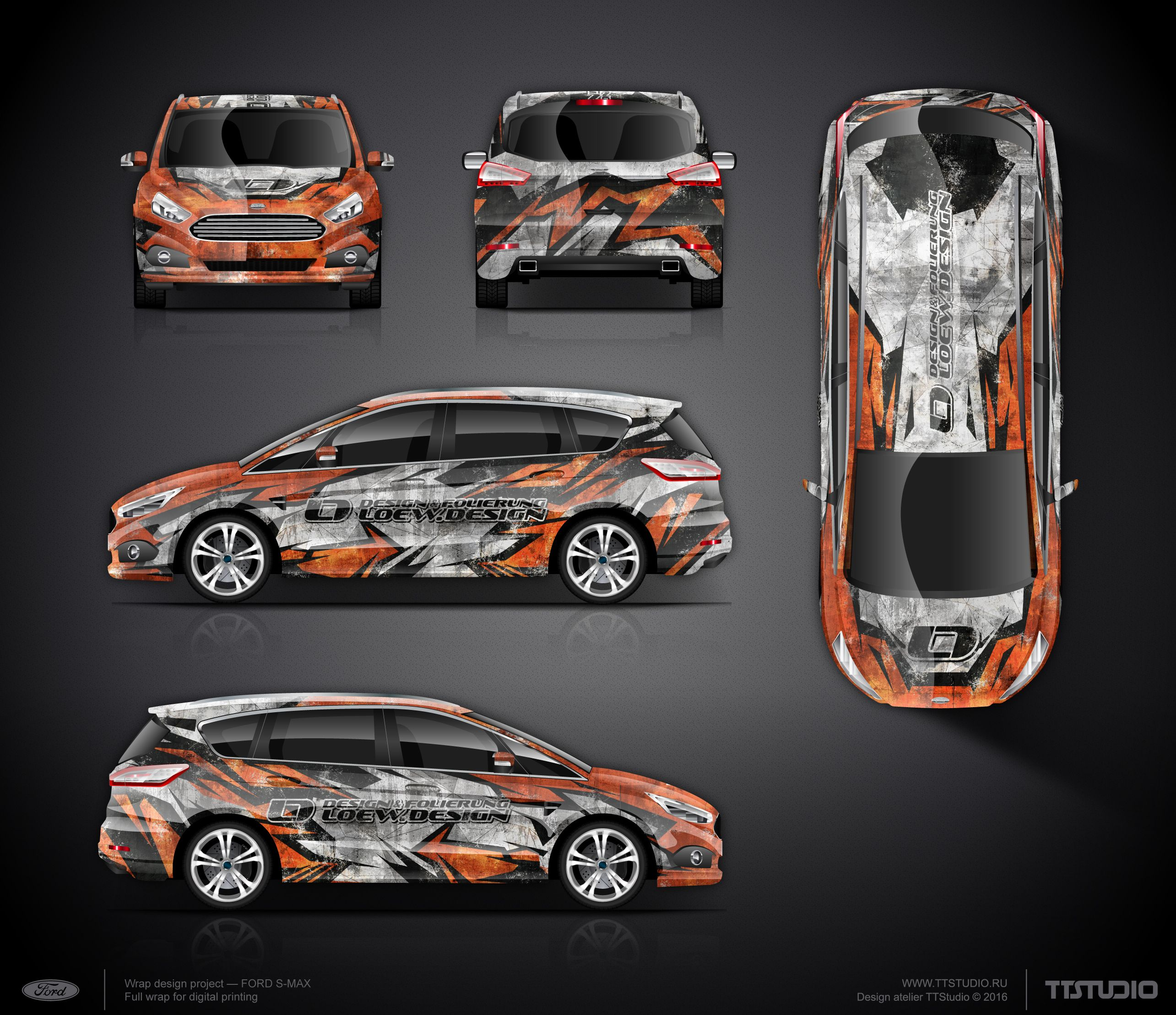The approved commercial graphics wrap design project & The approved commercial graphics wrap design project | Car wrap ... markmcfarlin.com