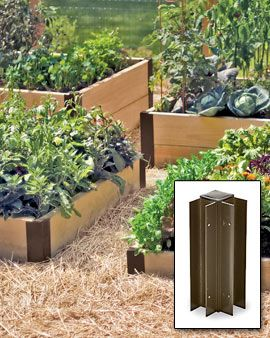 raised bed corners and forever raised beds - Corners For Raised Garden Beds