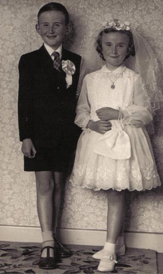 Vintage First Communion Dress :)