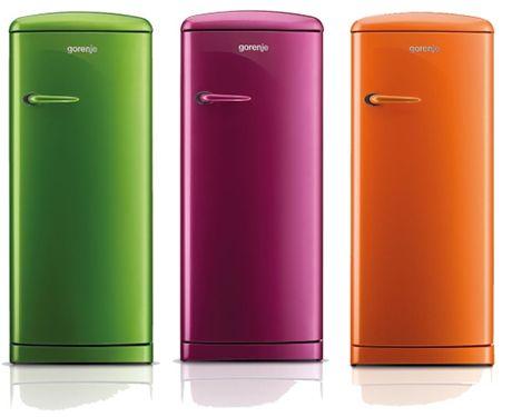 Gorenje Retro Refrigerators In New Colors Retro Fridge Retro Refrigerator