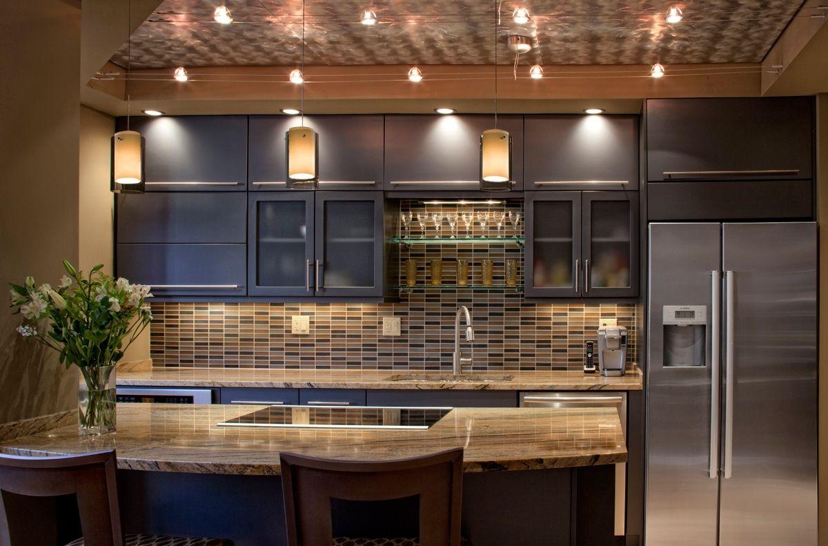 Led kitchen bar lights