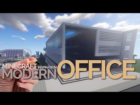 Minecraft Modern Office Building House Inspiration Game - Minecraft spielerkopfe erstellen
