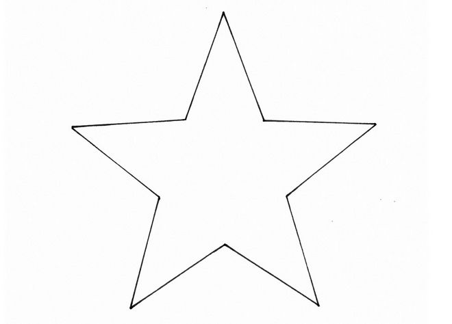 big five point star template ornaments pinterest diy christmas
